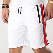 /achat-shorts-jogging/zayne-paris-short-jogging-avec-bandes-md09-blanc-noir-rouge-169205.html