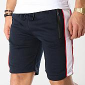 /achat-shorts-jogging/zayne-paris-short-jogging-avec-bandes-md02-bleu-marine-blanc-169207.html