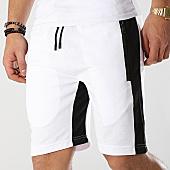 /achat-shorts-jogging/zayne-paris-short-jogging-avec-bandes-md01-blanc-noir-169211.html