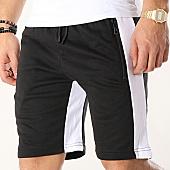 /achat-shorts-jogging/zayne-paris-short-jogging-avec-bandes-md01-noir-blanc-169213.html