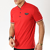 /achat-polos-manches-courtes/antony-morato-polo-manches-courtes-mmks01467-rouge-169277.html