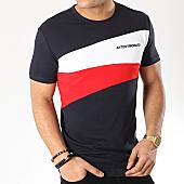 /achat-t-shirts/antony-morato-tee-shirt-mmks01472-bleu-marine-blanc-rouge-169284.html