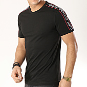 /achat-t-shirts/antony-morato-tee-shirt-avec-bandes-mmks01477-noir-169286.html