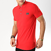 /achat-polos-manches-courtes/antony-morato-polo-manches-courtes-mmks01419-rouge-169295.html
