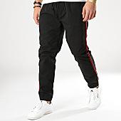 /achat-jogger-pants/brave-soul-jogger-pant-a-bandes-finetape-noir-rouge-169395.html