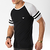 Emporio Armani - Tee Shirt 111811-9P529 Noir Gris Chiné 19d35cabbaa