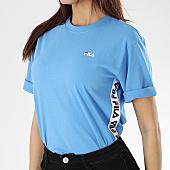 /achat-t-shirts/fila-tee-shirt-avec-bandes-femme-talita-682321-bleu-clair-169470.html
