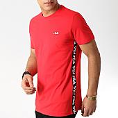 /achat-t-shirts/fila-tee-shirt-avec-bandes-talan-682362-rouge-169474.html