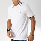 /achat-polos-manches-courtes/guess-polo-manches-courtes-m92p08-k7o60-blanc-169260.html