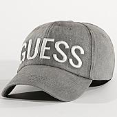 /achat-casquettes-de-baseball/guess-casquette-am8530-cot01-gris-169446.html