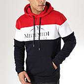 /achat-sweats-capuche/heuss-lenfoire-sweat-capuche-midi-midi-tricolore-bleu-marine-blanc-rouge-169347.html