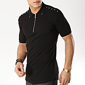 /achat-polos-manches-courtes/ikao-polo-manches-courtes-f404-noir-169247.html