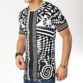 /achat-t-shirts-longs-oversize/ikao-tee-shirt-oversize-f462-blanc-noir-renaissance-169268.html