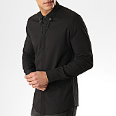 /achat-chemises-manches-longues/ikao-chemise-manches-longues-f423-noir-169276.html
