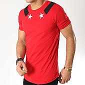 /achat-t-shirts-longs-oversize/ikao-tee-shirt-oversize-f419-rouge-169294.html