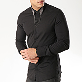 /achat-chemises-manches-longues/ikao-chemise-manches-longues-f424-noir-169374.html