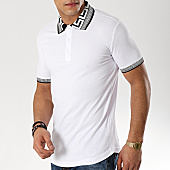 /achat-polos-manches-courtes/ikao-polo-manches-courtes-f402-blanc-renaissance-169390.html