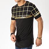 /achat-t-shirts-longs-oversize/ikao-tee-shirt-oversize-f441-noir-dore-169397.html