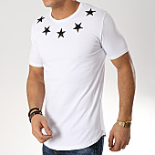 /achat-t-shirts-longs-oversize/ikao-tee-shirt-oversize-patchs-brodes-f437-blanc-169416.html
