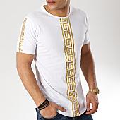 /achat-t-shirts-longs-oversize/ikao-tee-shirt-oversize-f417-blanc-dore-169421.html