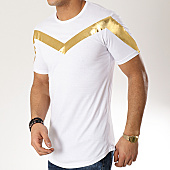 /achat-t-shirts-longs-oversize/ikao-tee-shirt-oversize-f440-blanc-dore-169425.html