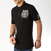 /achat-polos-manches-courtes/ikao-polo-manches-courtes-f473-noir-169432.html