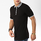 /achat-polos-manches-courtes/ikao-polo-manches-courtes-f403-noir-169438.html