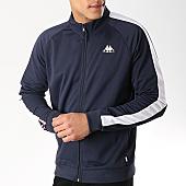 /achat-vestes/kappa-veste-zippee-a-bandes-authentic-ivone-304pnw0-bleu-marine-noir-169433.html