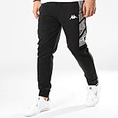 /achat-pantalons-joggings/kappa-pantalon-jogging-a-bandes-granto-304n4i0-noir-gris-chine-169436.html