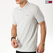 /achat-polos-manches-courtes/tommy-hilfiger-jeans-polo-manches-courtes-classics-solid-6112-gris-chine-169319.html