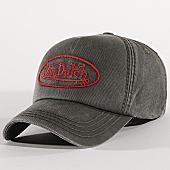 /achat-casquettes-de-baseball/von-dutch-casquette-bob-05-gris-anthracite-169233.html
