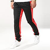 /achat-pantalons-joggings/zayne-paris-pantalon-jogging-avec-bandes-mk01-noir-rouge-169229.html
