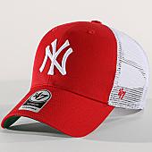 /achat-trucker/47-brand-casquette-trucker-new-york-yankees-mvp-branston-brans17ctp-rouge-blanc-169642.html