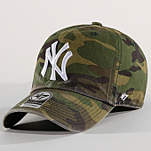 /achat-casquettes-de-baseball/47-brand-casquette-new-york-yankees-clean-up-cargw17gwsnl-vert-kaki-camouflage-169658.html