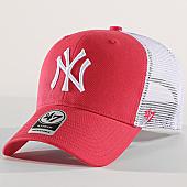 /achat-trucker/47-brand-casquette-trucker-new-york-yankees-mvp-flgsh17gwp-rose-blanc-169697.html