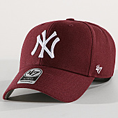 /achat-casquettes-de-baseball/47-brand-casquette-new-york-yankees-mvp-mvp17wbv-bordeaux-169754.html