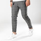/achat-pantalons-carreaux/classic-series-pantalon-carreaux-p19022-gris-anthracite-chine-noir-169535.html