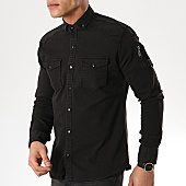 /achat-chemises-manches-longues/classic-series-chemise-manches-longues-16037-noir-169601.html