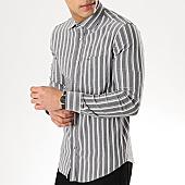 /achat-chemises-manches-longues/black-needle-chemise-manches-longues-3381-gris-blanc-gris-clair-169647.html