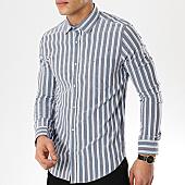 /achat-chemises-manches-longues/black-needle-chemise-manches-longues-3381-gris-blanc-bleu-clair-169652.html