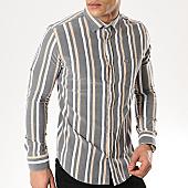 /achat-chemises-manches-longues/black-needle-chemise-manches-longues-3381-gris-blanc-169656.html