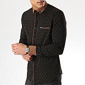 /achat-chemises-manches-longues/classic-series-chemise-manches-longues-3380-noir-marron-169695.html