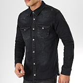 /achat-vestes-jean/classic-series-veste-jeans-6836-noir-169731.html