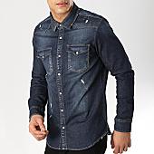 /achat-chemises-manches-longues/classic-series-chemise-jean-slim-manches-longues-6667-bleu-denim-169748.html
