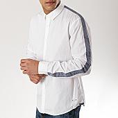/achat-chemises-manches-longues/esprit-chemise-manches-longues-a-bandes-019cc2f001-blanc-169479.html