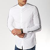 /achat-chemises-manches-longues/mtx-chemise-manches-longues-a-bandes-cm317-blanc-169524.html