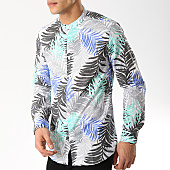 /achat-chemises-manches-longues/mtx-chemise-manches-longues-col-mao-xs1201-blanc-floral-169546.html