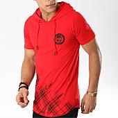 /achat-t-shirts-capuche/mtx-tee-shirt-capuche-oversize-fx257-rouge-169580.html