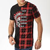 /achat-t-shirts-longs-oversize/mtx-tee-shirt-oversize-fx191-noir-rouge-169587.html