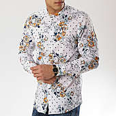/achat-chemises-manches-longues/mtx-chemise-manches-longues-floral-col-mao-xs1204-blanc-169617.html